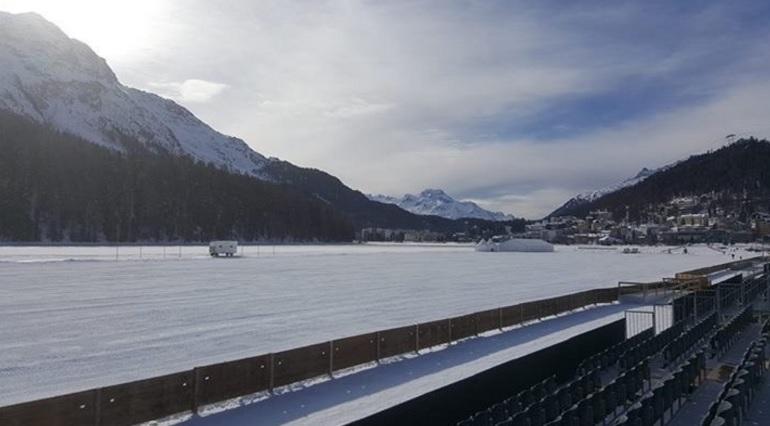 St. Moritz Snow Polo começa nesta sexta-feira (crédito - twitter Snow Polo St. Moritz)