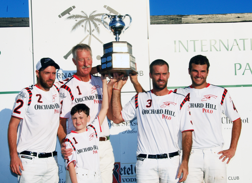 Equipe Orchard Hill, campeã da C.V. Whitney Cup (crédito - Alex Pacheco)