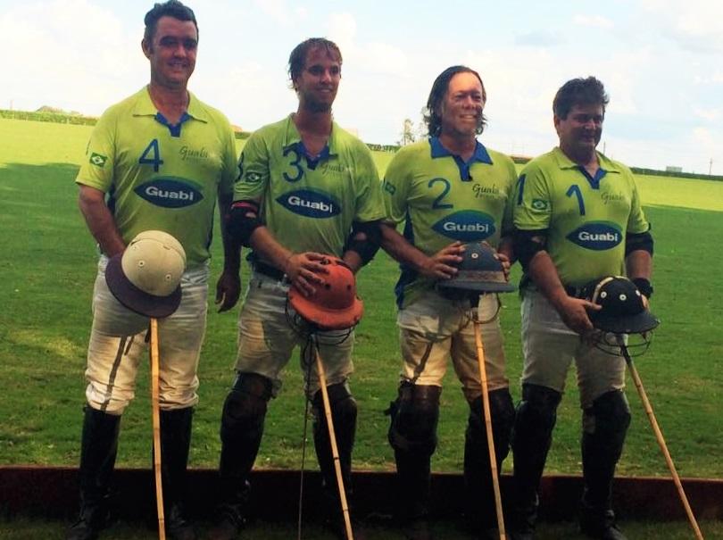Equipe Guabi, campeã do Torneio de Outono de Franca (crédito da foto - arquivo pessoal)